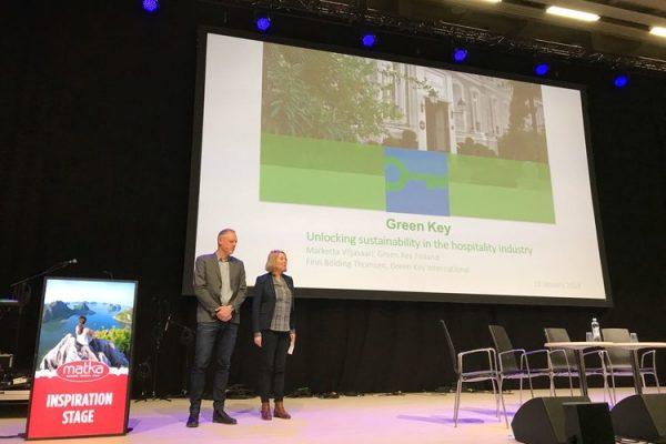 Green Key na targach turystycznych Helsinki